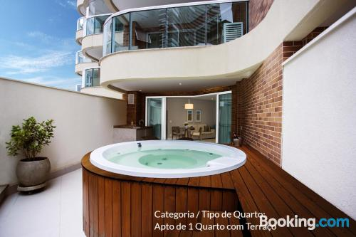 Apartment in Santos with swimming pool