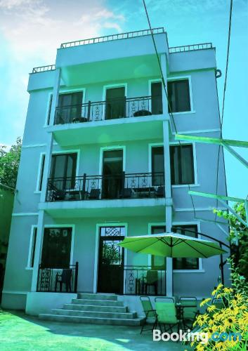 Apartment for couples in Makhinjauri with terrace