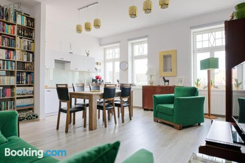 1 bedroom apartment in Cieszyn with heating