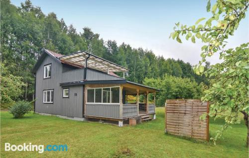 Home with 2 rooms. Munkfors at your hands!