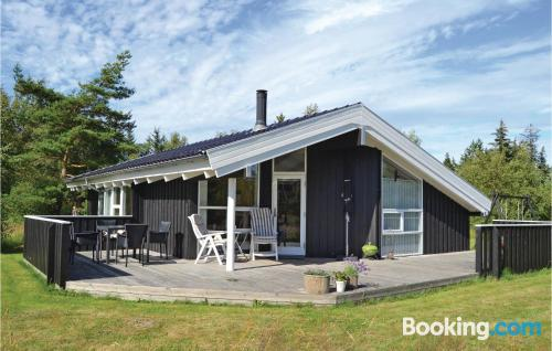 Place in Jerup. Ideal for six or more