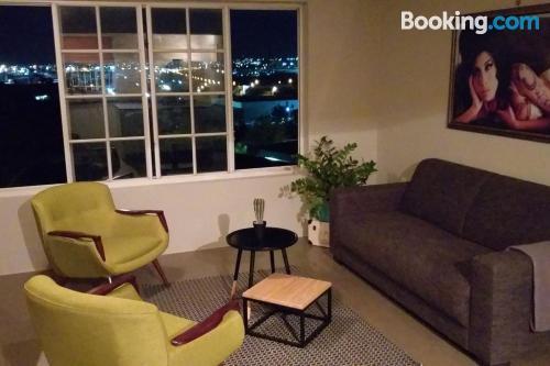 Apartamento en Willemstad con aire acondicionado.