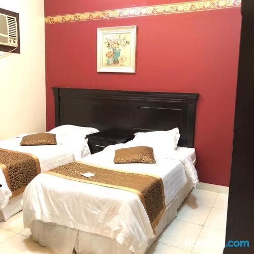 Apartamento con aire acondicionado en Tabuk.