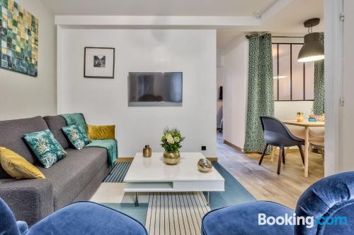 Amplio apartamento en París.