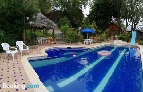One bedroom apartment apartment in Santa Fe de Antioquia with pool.