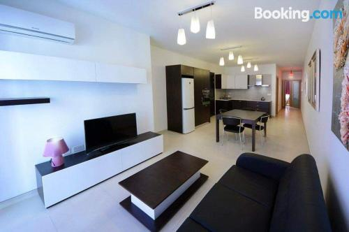Apartment with internet in St Julian's.