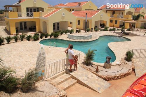 Apartment for 2 people with terrace and swimming pool