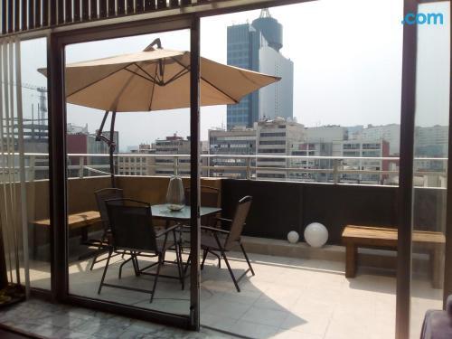 Apartamento en Ciudad de Mexico con terraza.