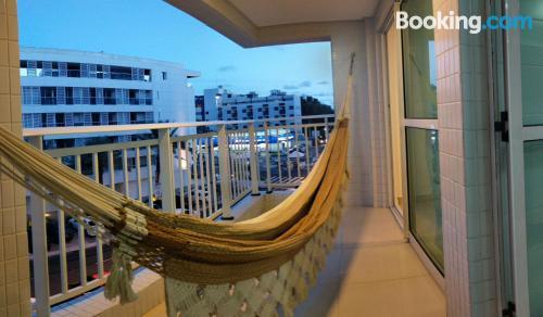 Amplio apartamento de dos habitaciones en João Pessoa.