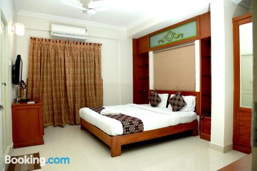 Apartamento con terraza y internet en Cochin. Perfecto para uno