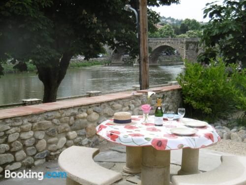 Apartment for 2 in Limoux. Air!.