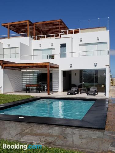 Apartamento con piscina y aire acondicionado. ¡40m2!