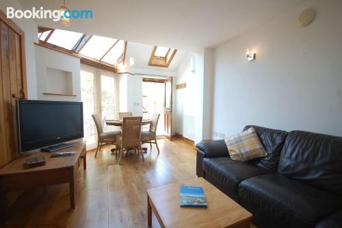 East Preston apartment. Terrace!.