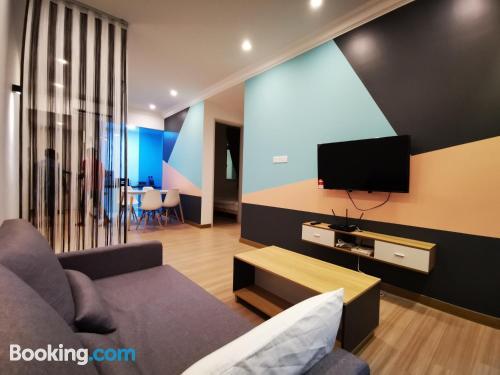 Apartamento con aire acondicionado en Melaka