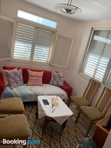Apartment for two people in Haifa.
