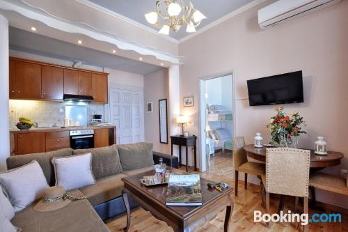 One bedroom apartment in Corfu Town with wifi and terrace