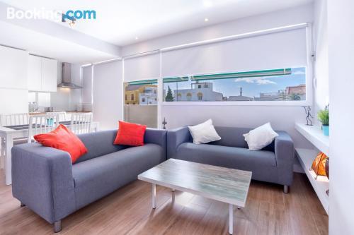 Gran apartamento en Málaga con conexión a internet y terraza