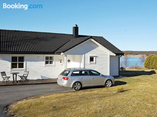 3 bedroom apartment in Fiksdal. Ideal for six or more