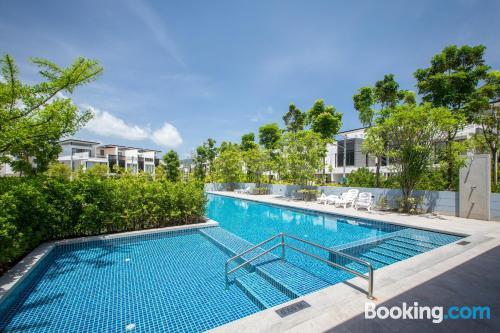 Apartamento con vistas perfecto para cinco o más
