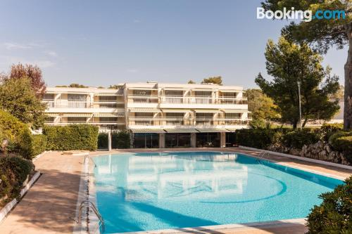 Home in Boulouris-sur-Mer with swimming pool