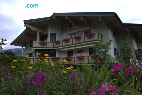 Apartamento con terraza y wifi en Annaberg im Lammertal para cinco o más