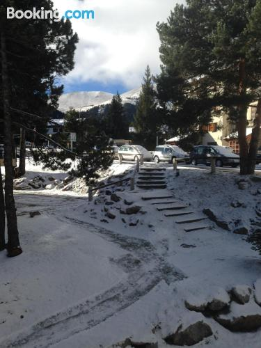 Pet friendly home in La Molina good choice for families