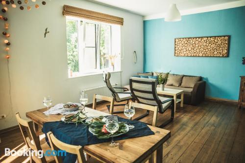 Apartamento en Saulkrasti con conexión a internet y terraza