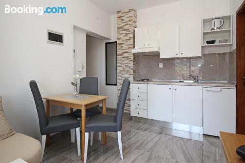Apartamento para parejas en Baška con wifi