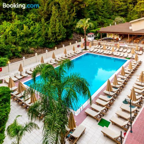 Place in Marmaris with terrace.