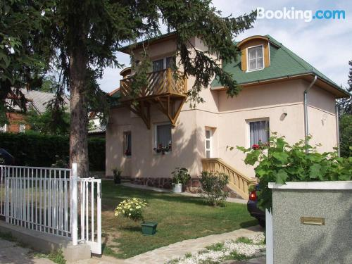 Apartment with two rooms in superb location of Fonyód