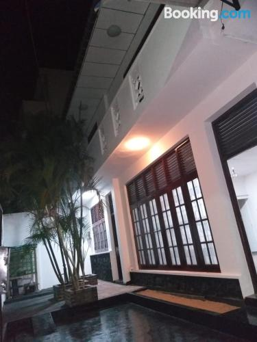 Apartment in Dehiwala great for six or more.