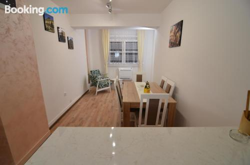 2 rooms apartment perfect for 6 or more.