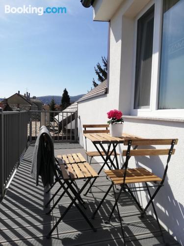 Zona increíble con aire acondicionado en Kőszeg ¡Con terraza!