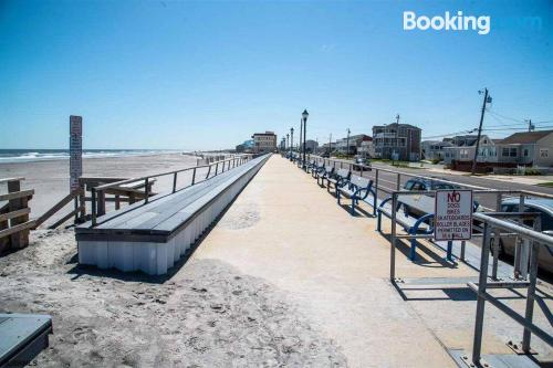 In Brigantine perfect for six or more.