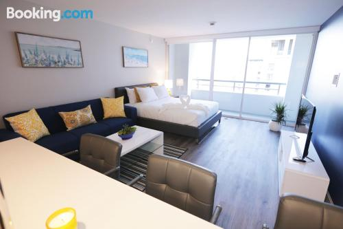 Convenient 1 bedroom apartment with wifi and terrace.