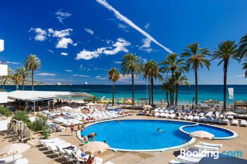 Apartamento con piscina en Playa d'en Bossa