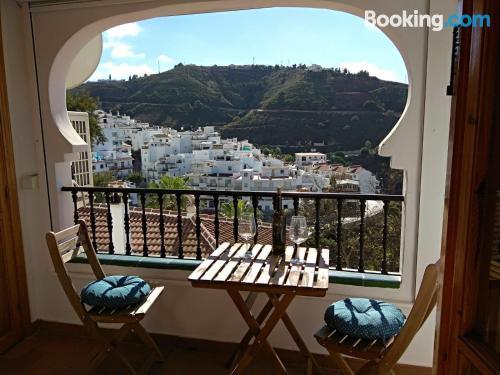 Apartamento de una habitación en Cómpeta con piscina