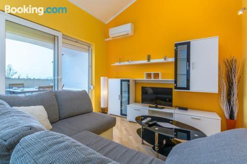 Gran apartamento de dos habitaciones en Novigrad Istria