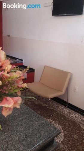 Apartment with internet in Contagem.