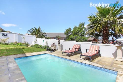 Home with 2 rooms. Enjoy your pool in Somerset West!