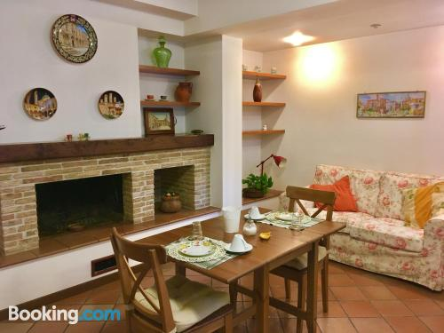 Place with terrace. Convenient for 2 people!