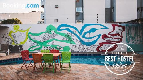 Apartment in Foz do Iguaçu with swimming pool and terrace