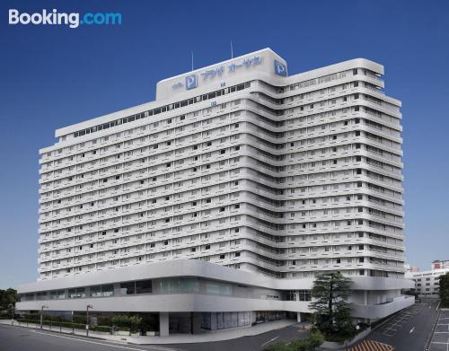 Home with internet. Osaka calling!