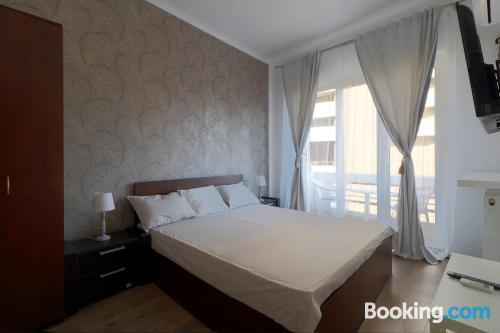 Experience in central location in Bucharest.