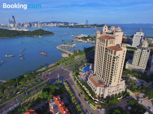 Apartment with terrace. Xiamen is yours!