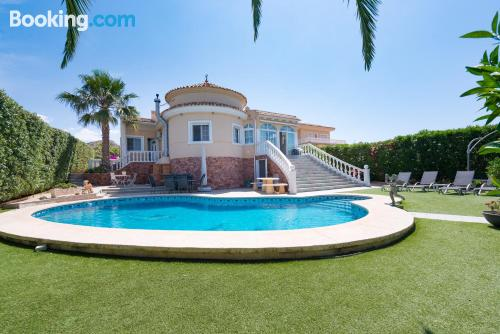 3 room home. Swimming pool!