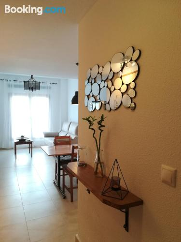 One bedroom apartment place in Guadalest. Internet!.