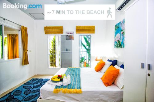 Perfect one bedroom apartment. Air-con!