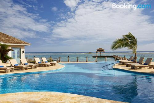 Home for two in Montego Bay with terrace