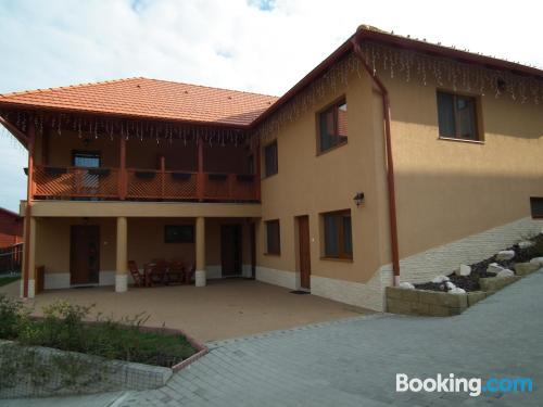 Place in Praid with terrace and wifi.